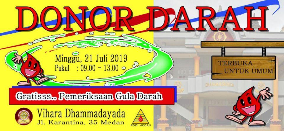 foto-baksos-Donor Darah 21 Juli 2019