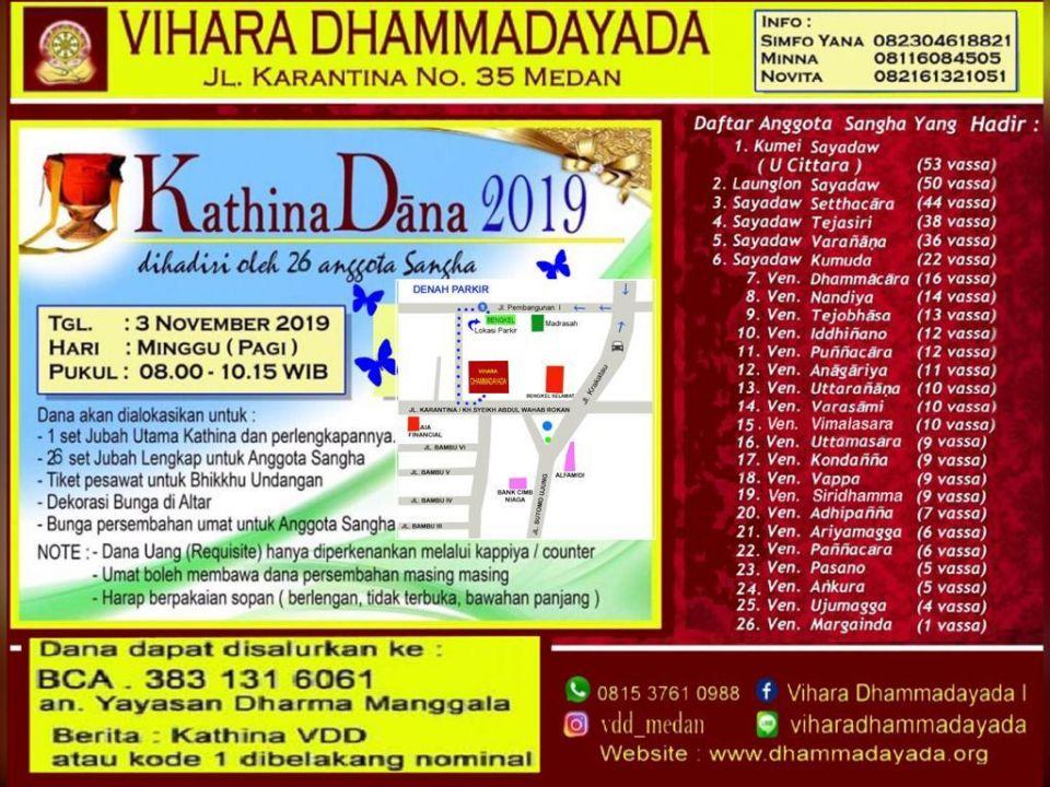 foto-kebaktian-Kathina Dāna 2019