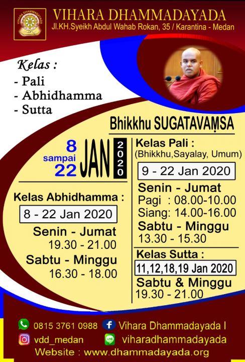 foto-kelasdhamma-Kelas Abhidhamma Dibimbing Oleh Bhikkhu Sugatavaṃsa